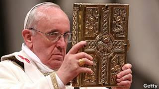O papa Francisco na Vigília Pascal