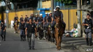 Военизированная полиция в Рио