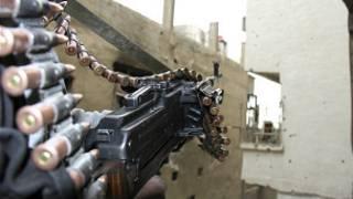 أسلحة في سوريا