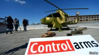 हथियारों पर नियंत्रण की मांग