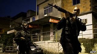 Violencia en Brasil