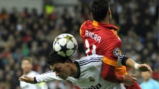 Real Madrid-Galatasaray ilk maçından bir an