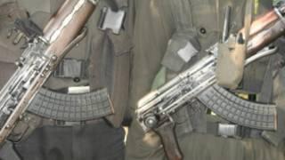 माओवादी हथियारबंद दस्ते