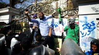 حمله به محل استقرار دیپلمات ایرانی در مصر
