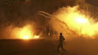 مصادمات بين محتجين وقوات الأمن