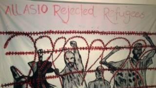 Asylum seekers on hunger strike