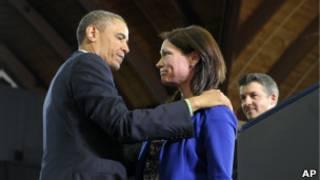 Обама и Николь Хокли