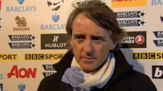 Manajan kulob din Manchester City, Roberto Mancini