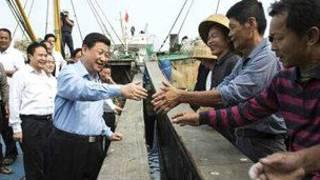 Ông Tập Cận Bình thăm ngư dân