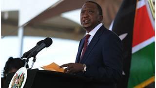 Le président Uhuru Kenyatta
