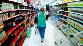 Supermercado / Agência Brasil