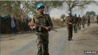 قوات حفظ السلام بجنوب السودان
