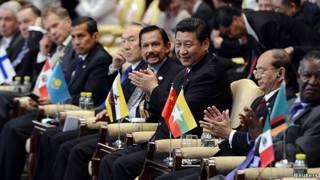 Xi Jinping en el foro Boao
