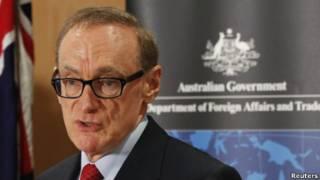 Ngoại trưởng Úc Bob Carr