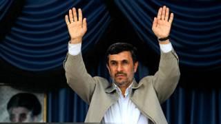 shugaba Ahmadinejad na Iran