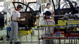 مراحل تصنيع السيارة تويوتا