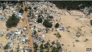 Sri Lanka war zone