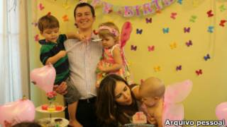 Família brasileira na Tailândia | Foto: Arquivo pessoal