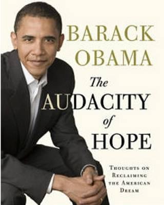 طرح روی جلد کتاب جسارت امید نوشته باراک اوباما