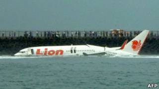Avião da Lion Air (Foto AFP)