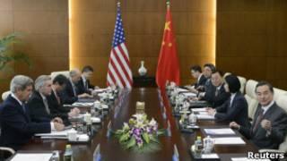 Встреча в Пекине министров иностранных дел США и Китая