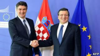 Миланович с Баррозу