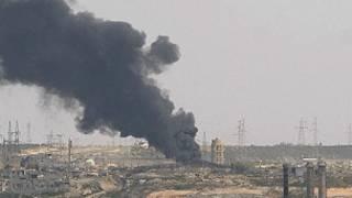 حملات هوایی سوریه