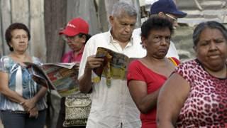 الناخبون في فنزويلا