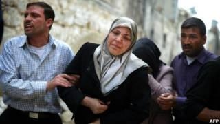 جريحة سورية في حلب