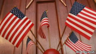 Американские флаги