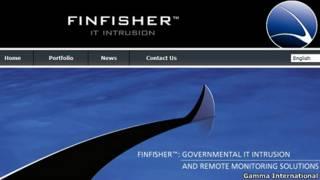 Giới thiệu về Finfisher trên trang web của Gamma International