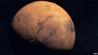 Marte (arquivo/Nasa)
