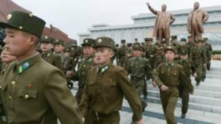 Kuzey Kore askerleri