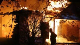 Explosão no Texas | Foto: AP