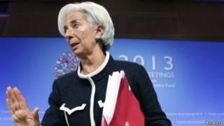 كريستين لاغارد رئيسة صندوق النقد الدولي