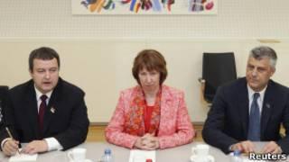 Ивица Дакич, Кэтрин Эштон и Ташим Тачи