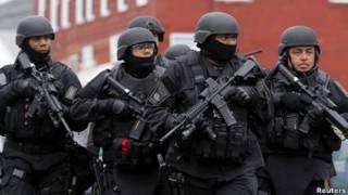 Policía en Boston