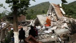 चीन में भूकंप