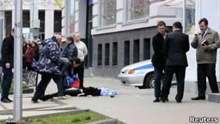 Белгород, стрельба