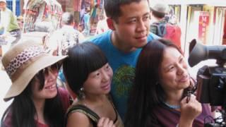 काठमांडू में चीनी पर्यटक