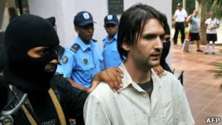 Задержанный в Никарагуа Эрик Джастин Тот