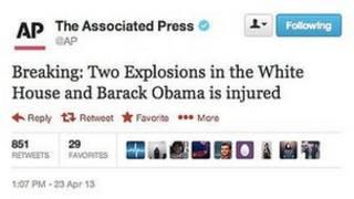 خبر جعلی در توئیتر