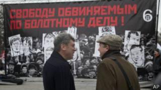 Борис Немцов и Владимир Рыжков