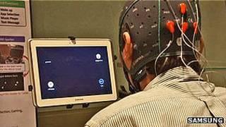 Tableta controlada por la mente