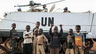 Fuerzas de la ONU en Congo