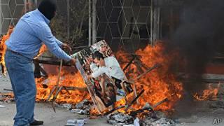Unjuk rasa di Meksiko