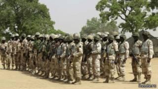 قوات نيجيرية