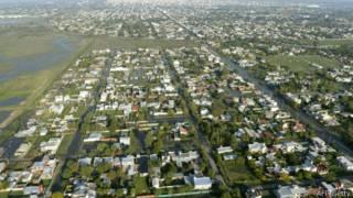 Sin planificación urbana