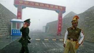 भारत-चीन सीमा पर गश्त