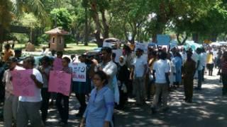 Protestas en Sri Lanka